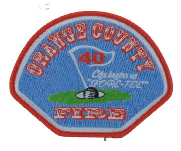 Fire Deapartment Patch