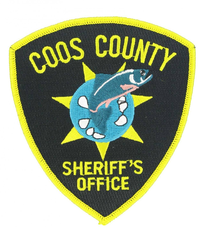 Sheriff embroidered emblem