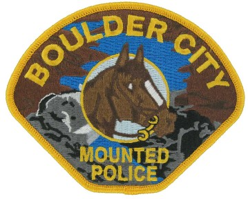 Mounted Police Patch