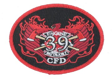 Firefighter Embroidered Emblems