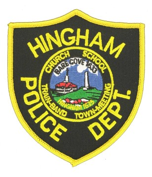 Police Badge Embroidered Patch