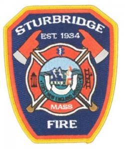 Fire Scrambler Embroidered Patch