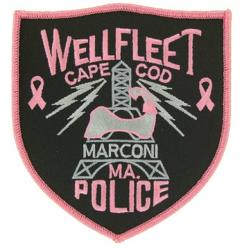 Breast Cancer Police Patch