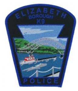 K9 Police Emblem