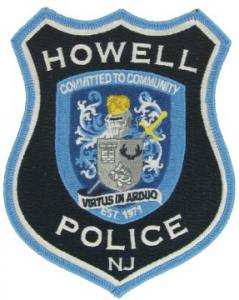 Police Embroidered Emblem