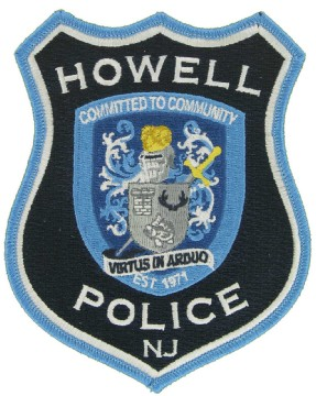 Police Embroidered Emblem