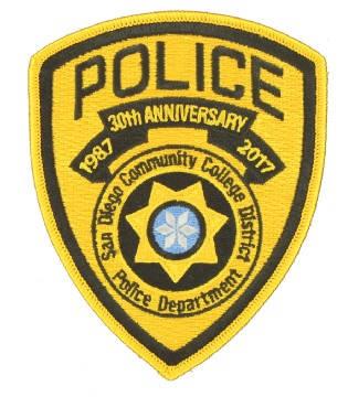 Police Embroidered Emblems