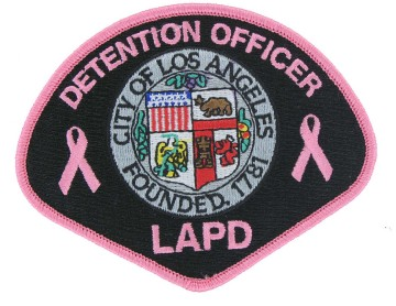 Pink Police Patch