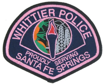Police awareness patch