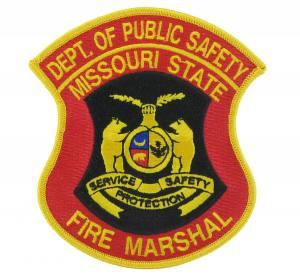 Fire Marshal Embroidered Emblem