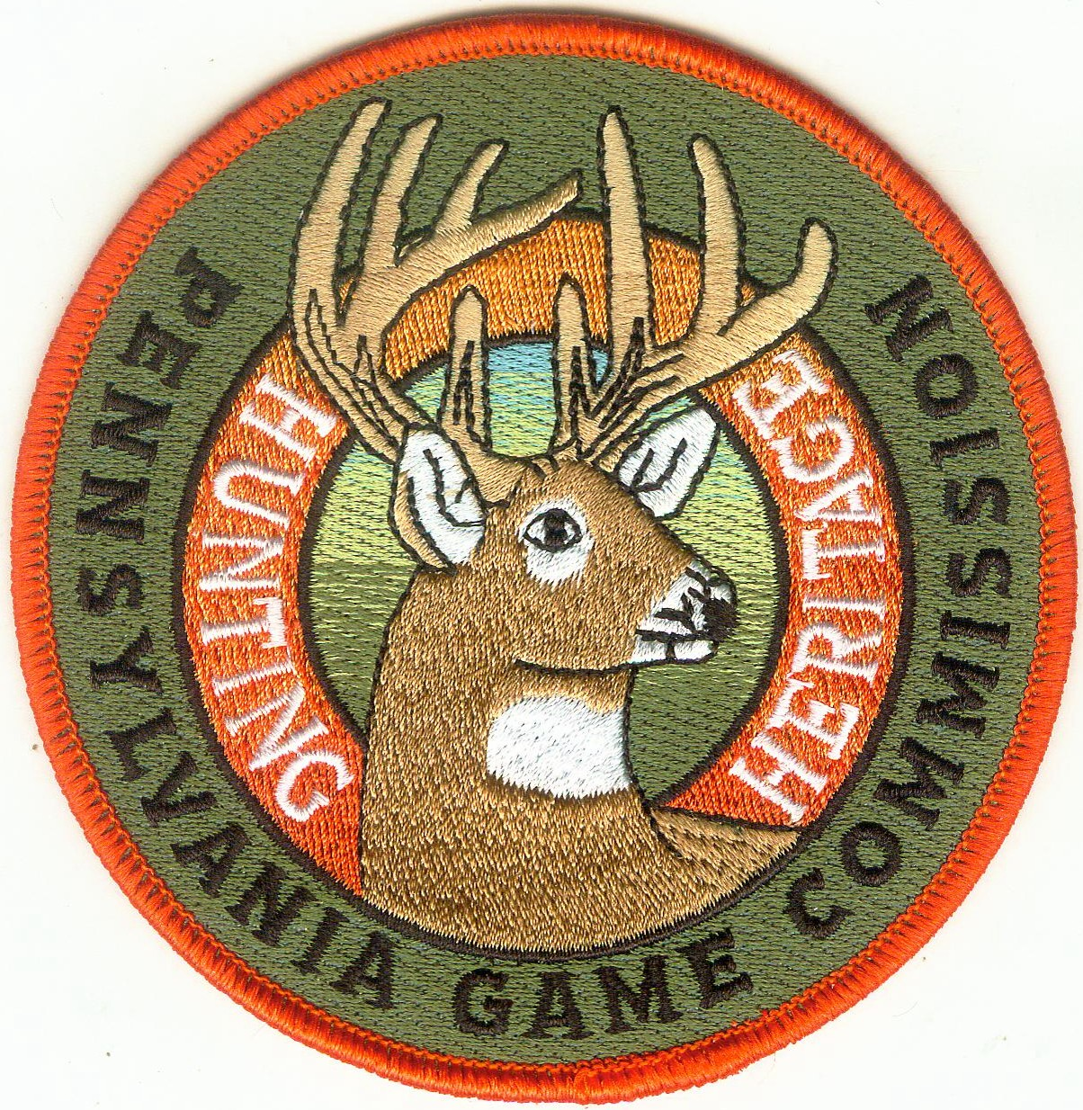 Game Commission Embroidered Patch