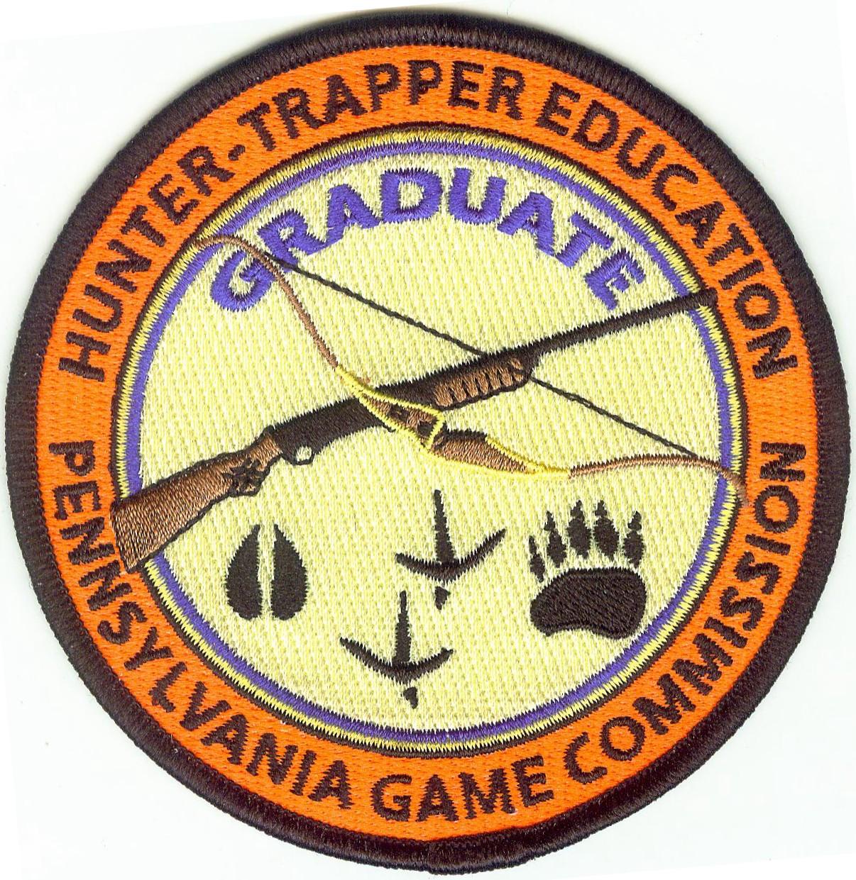 Game Commission Embroidered Emblem