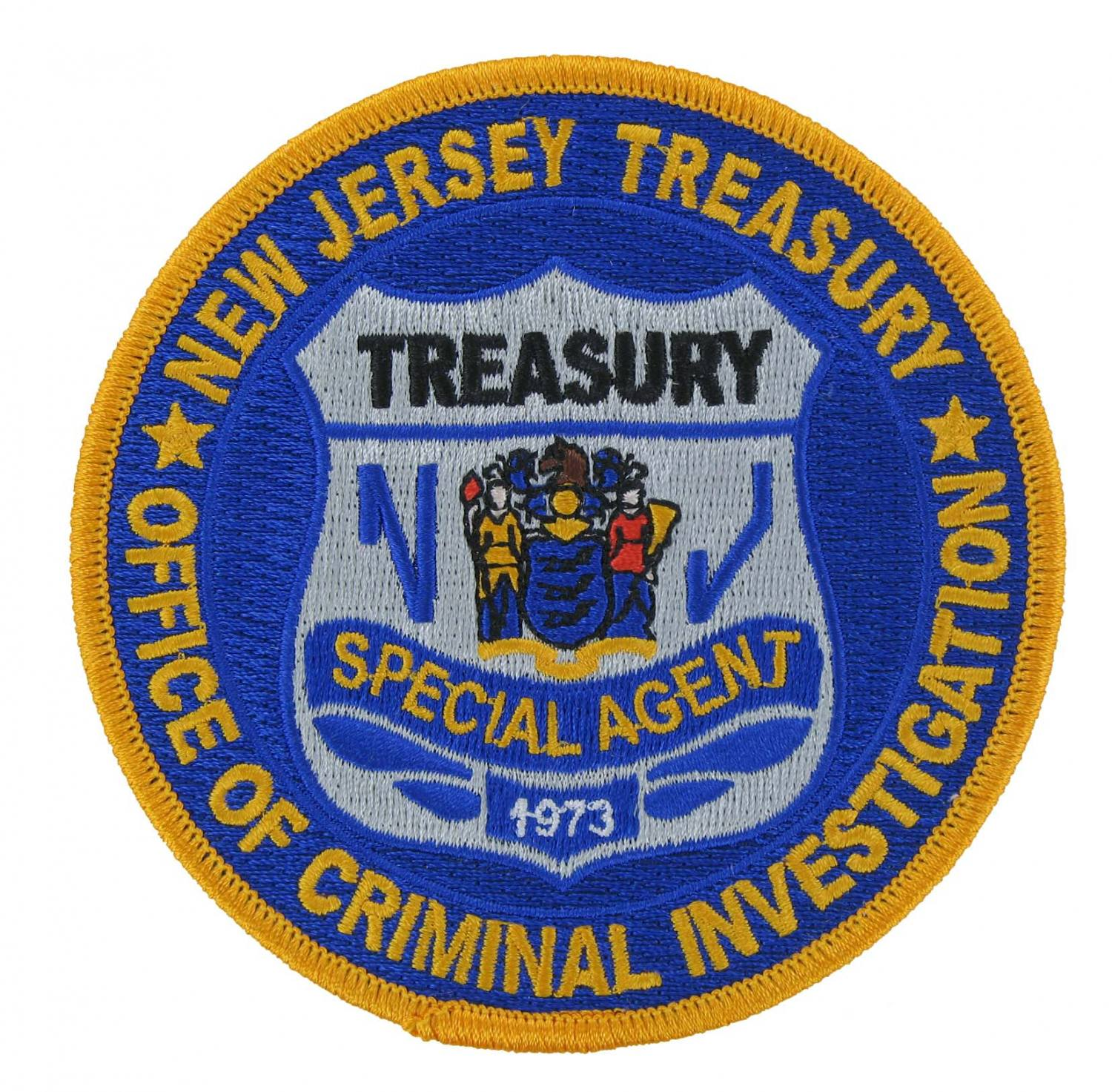 Special Agent Embroidered Emblem