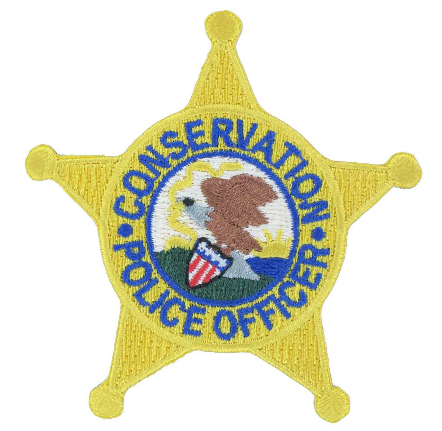 Police Officer Star Badge Patch
