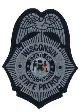 State Patrol Embroidered Patch