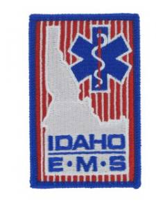 EMS Embroidered Emblem