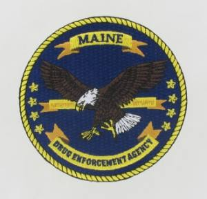 DEA Embroidered Emblem