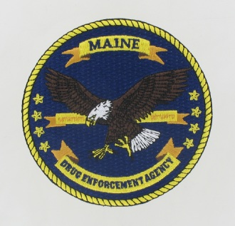 DEA Embroidered Emblem