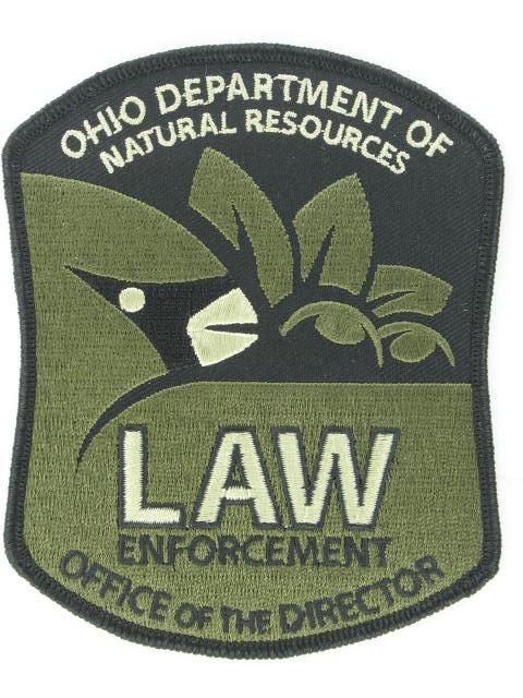 Law Enforcement Embroidered Emblem