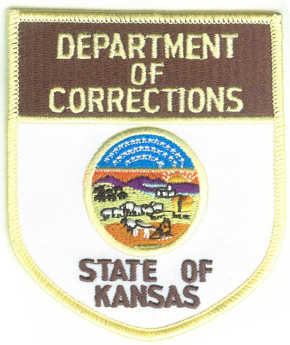 Correctoins Embroidered Emblem