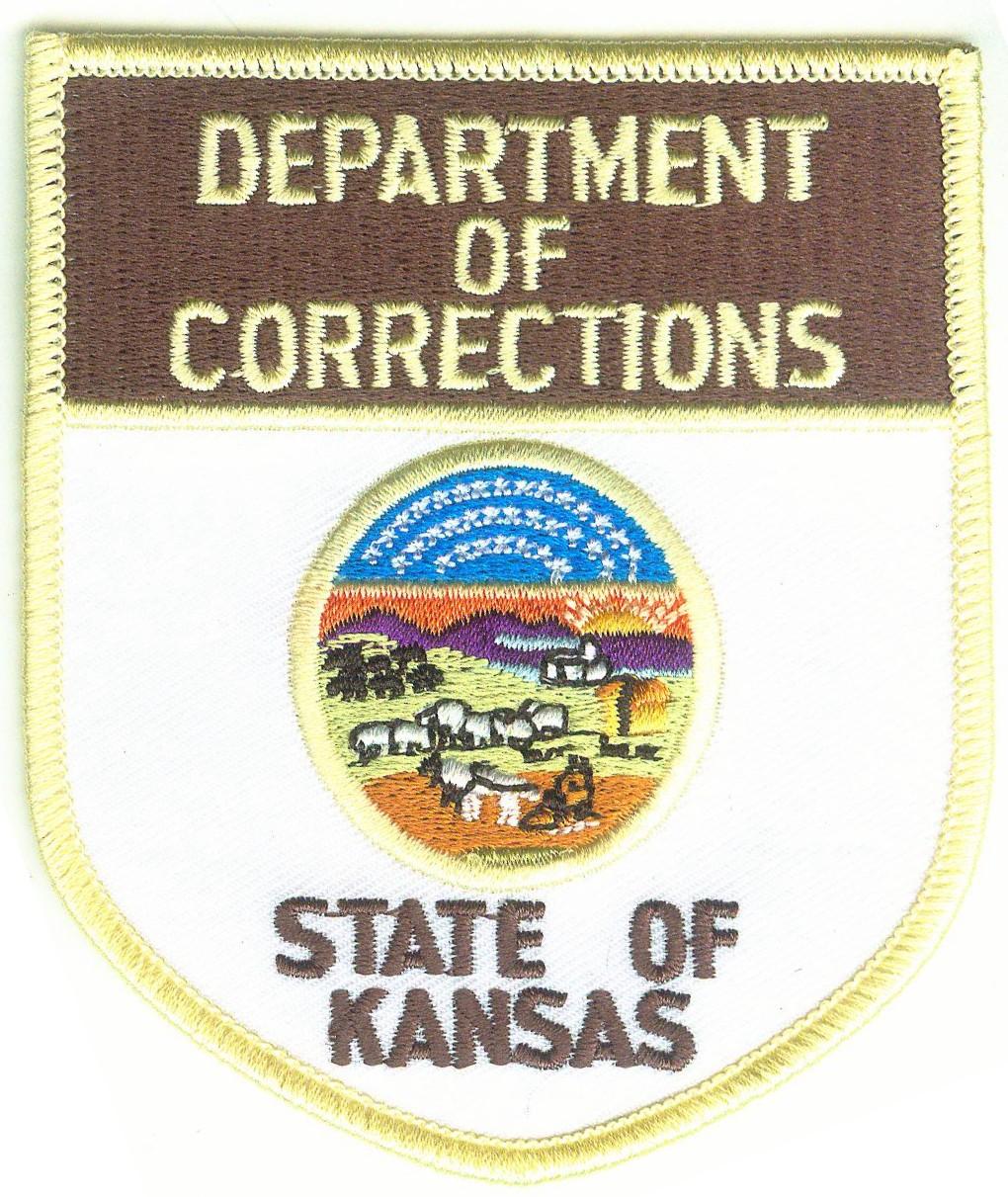 Correctoins Embroidered Emblem