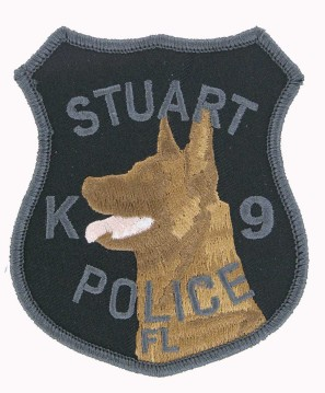 K9 Police patches