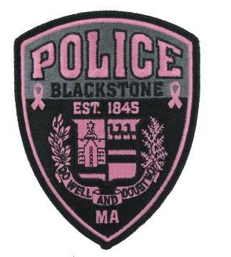 Police Cause patches