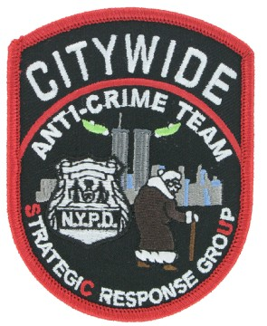 Crime team patches