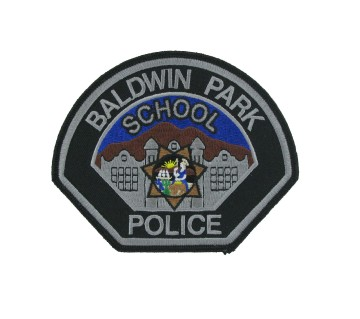 School police patches