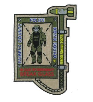 Custom police emblems