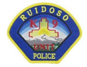K9 Police patch