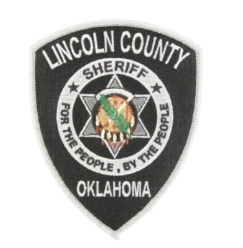 E17650 LINCOLN COUNTY SHERIFF (OK) | The Emblem Authority