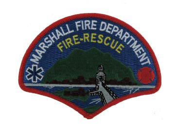 Fire Rescue patches