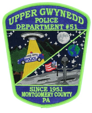 new Rhode Island College Police Cap Patch